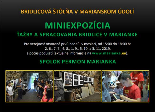062e3bacf Na webe prinášame aktuálne informácie z činnosti nášho spolku, zaujímavosti  okolo bridlice, jej ťažby a spracovania nielen v Marianke, ale aj vo svete.